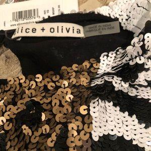 Alice + Olivia Dresses - Alice & Olivia Sequin Cocktail/Party Dress